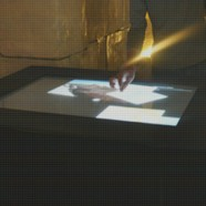 Shawbak multi-touch tabletop