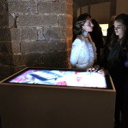 Salvatore Ferragamo Museum multi-touch applications