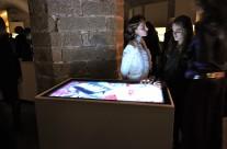 Salvatore Ferragamo Museum multi-touch applications