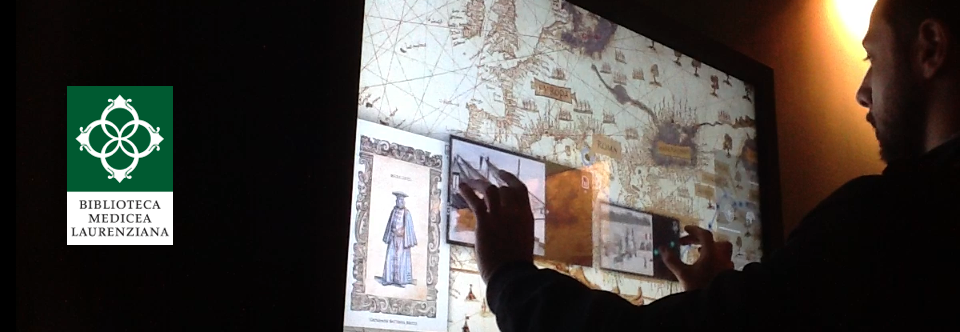 Multi-touch large screen for the Biblioteca Medicea Laurenziana in Florence